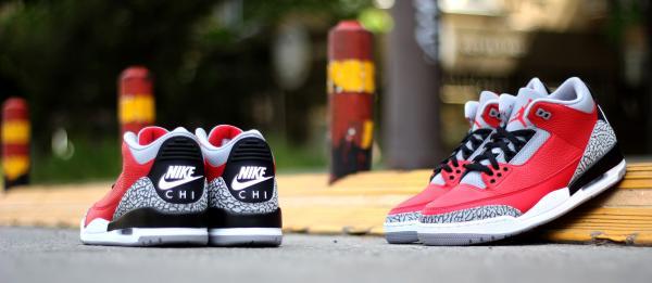 "Air Jordan Retro III ""CHI"""