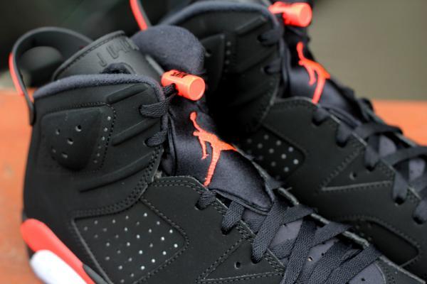 Jordan VI Black/Infrared