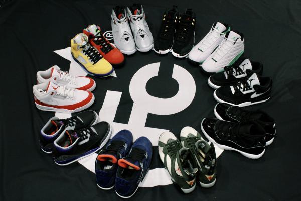 """Air Jordan селекция във """"Foot Court"""""""