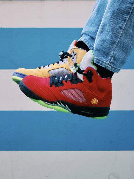 "Air Jordan V ""What The"""