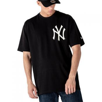 MLB BIG LOGO OVERSIZED TEE NEYYAN BLK